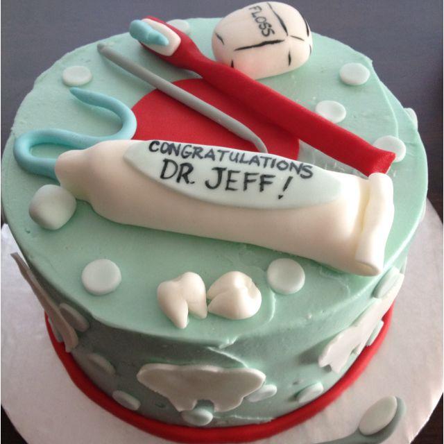Dental graduation cake :) time to partay Pinterest ...