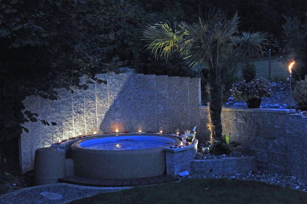 Whirlpool Softub Entspannung im eigenen Garten dank Parisini ...