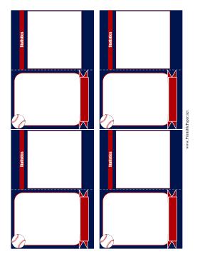 Printable Baseball Card Template Baseball Card Template Baseball Cards Baseball Card Boxes