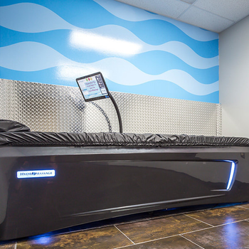 HydroMassage water massage bed in Crunch Fitness Fitness