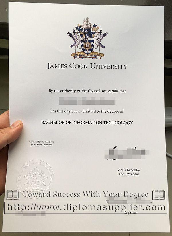 James Cook University\/JCU degree, JCU diploma, I want to buy a JCU - first class degree