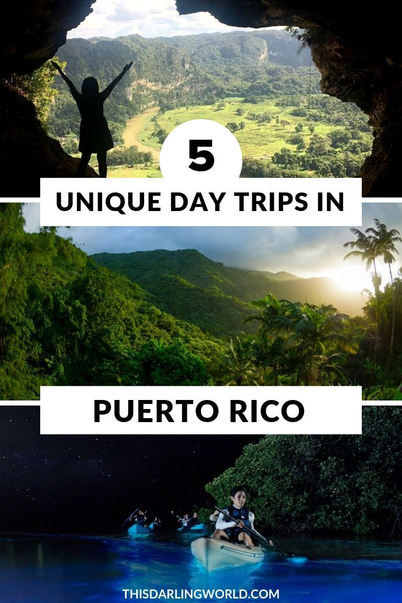 5 Unique Puerto Rico Day Trips Puerto rico trip, Day