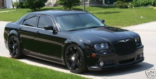 22 inch black out chrysler 300 c 300c wheels rims 5 l luxury cars pinterest chrysler 300. Black Bedroom Furniture Sets. Home Design Ideas