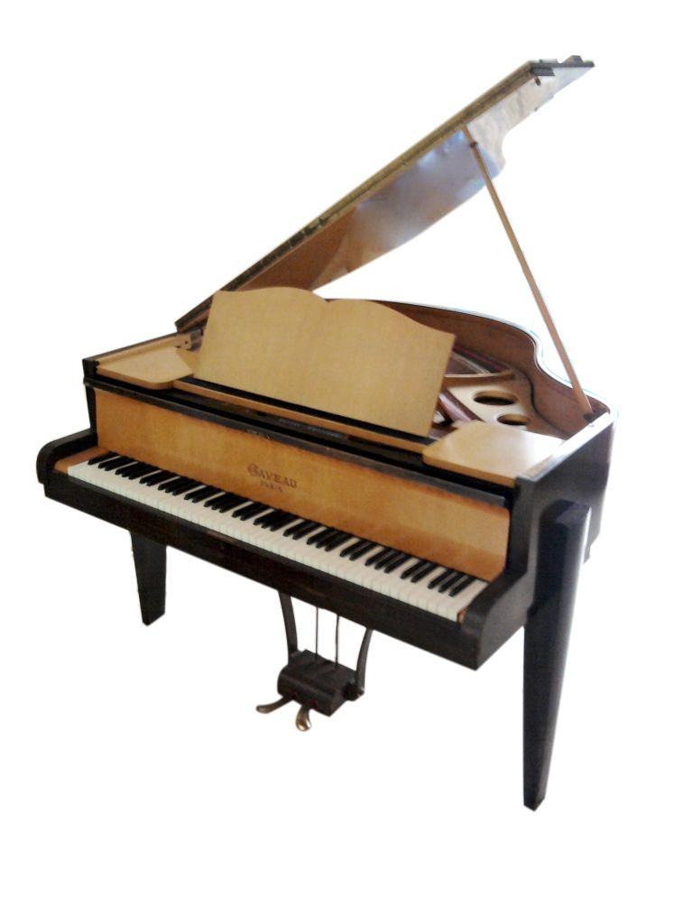 jpg piano crapaud gaveau art deco quart de queue 1955. Black Bedroom Furniture Sets. Home Design Ideas