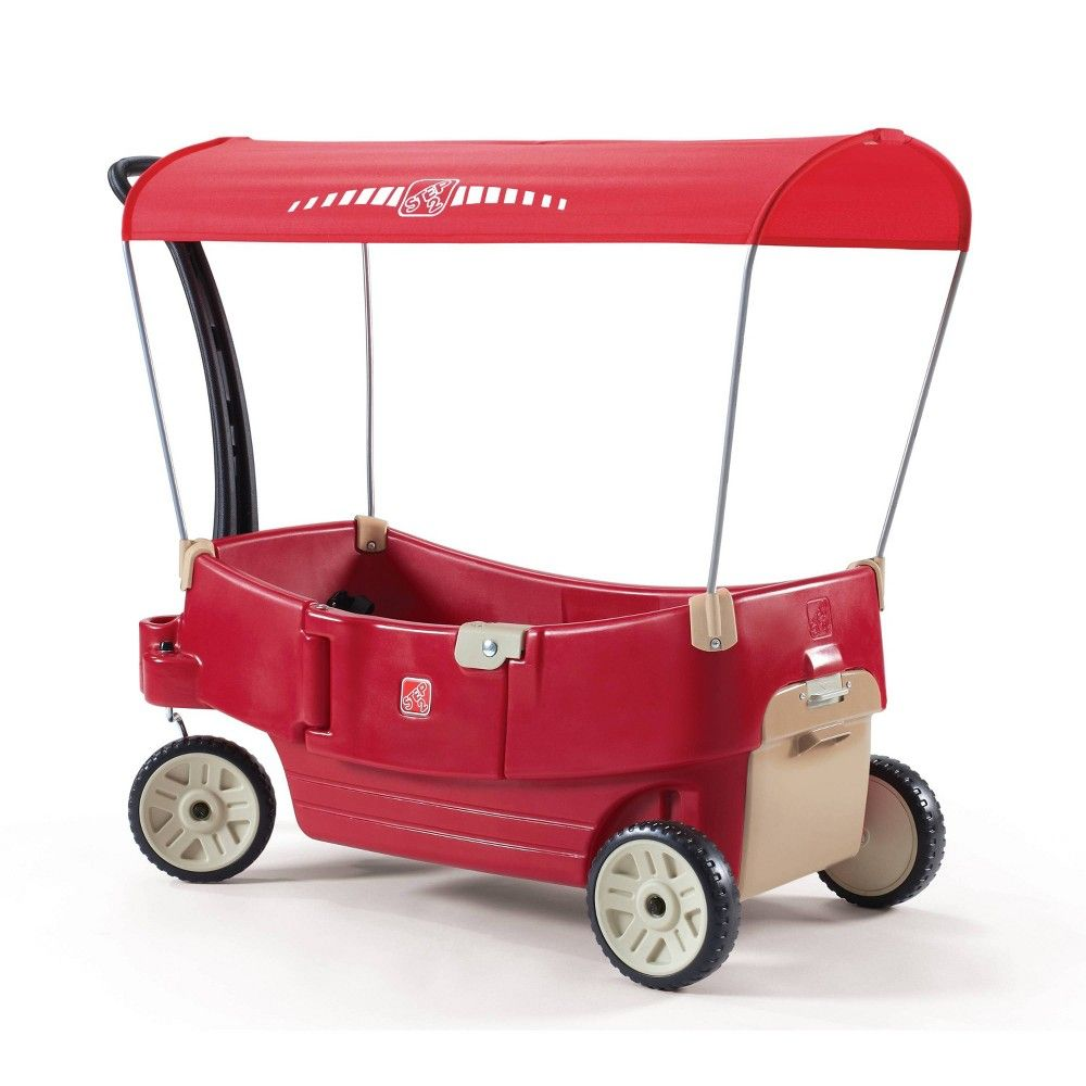 Step2 All Around Canopy Wagon Red in 2020 Convertible