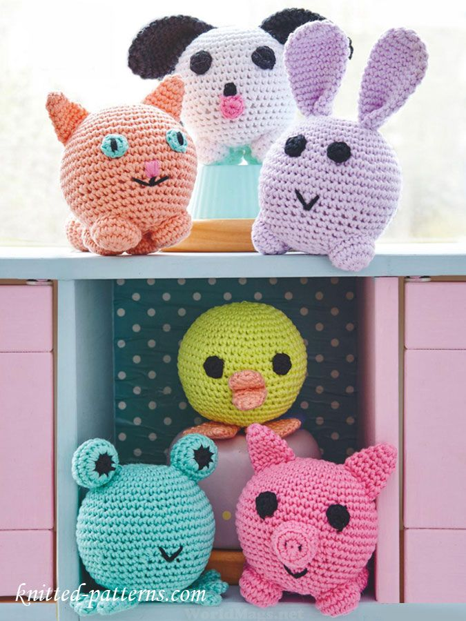 Amigurumi animals crochet patterns free | amigurumi | Pinterest ...