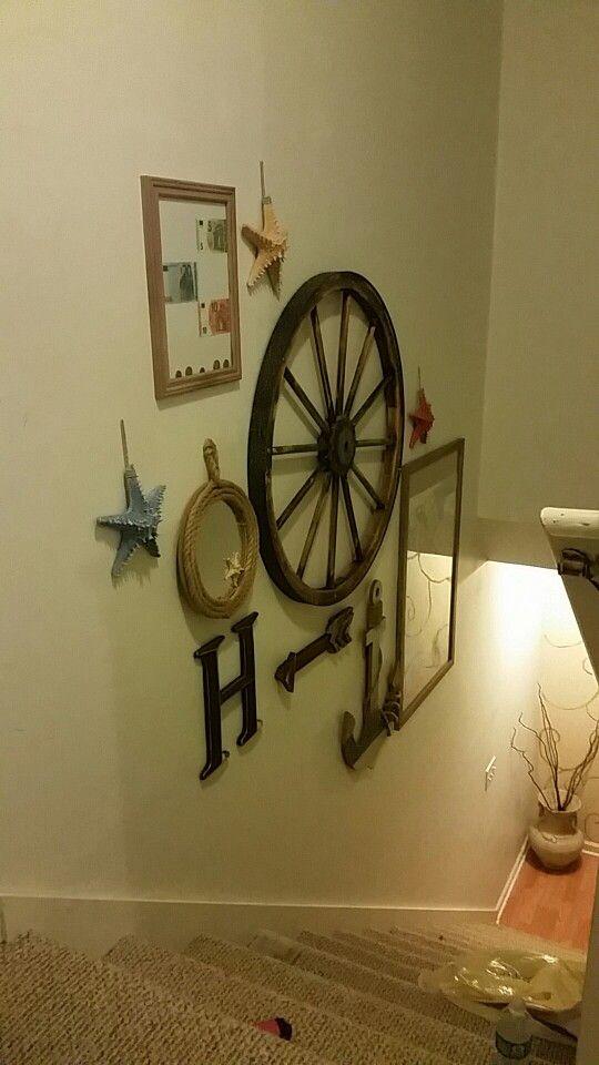 Wagon Wheel Wall Decoracion