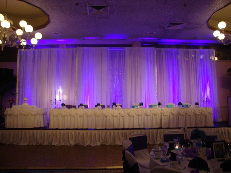 backdrop pipe and drape | Wedding and Trade | Pinterest | Pipes ...