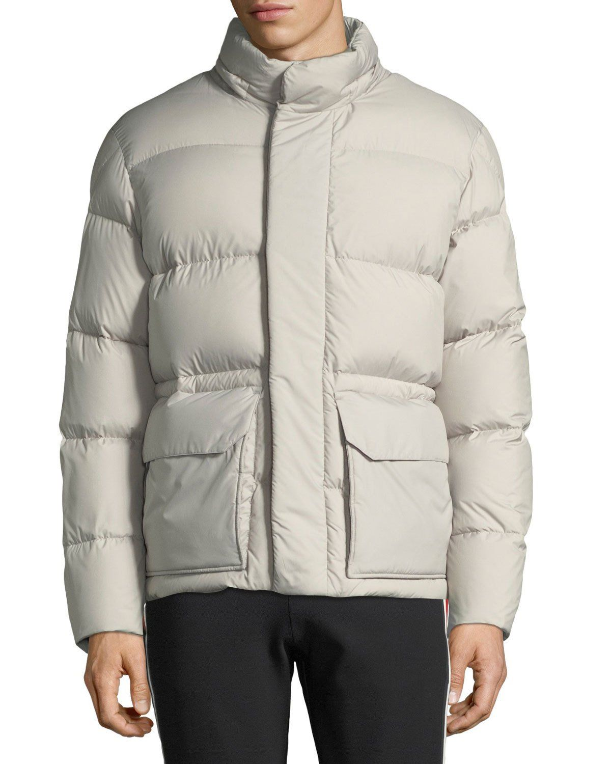 5e3bd20d0 Moncler Men s Glacier Hooded Puffer Jacket
