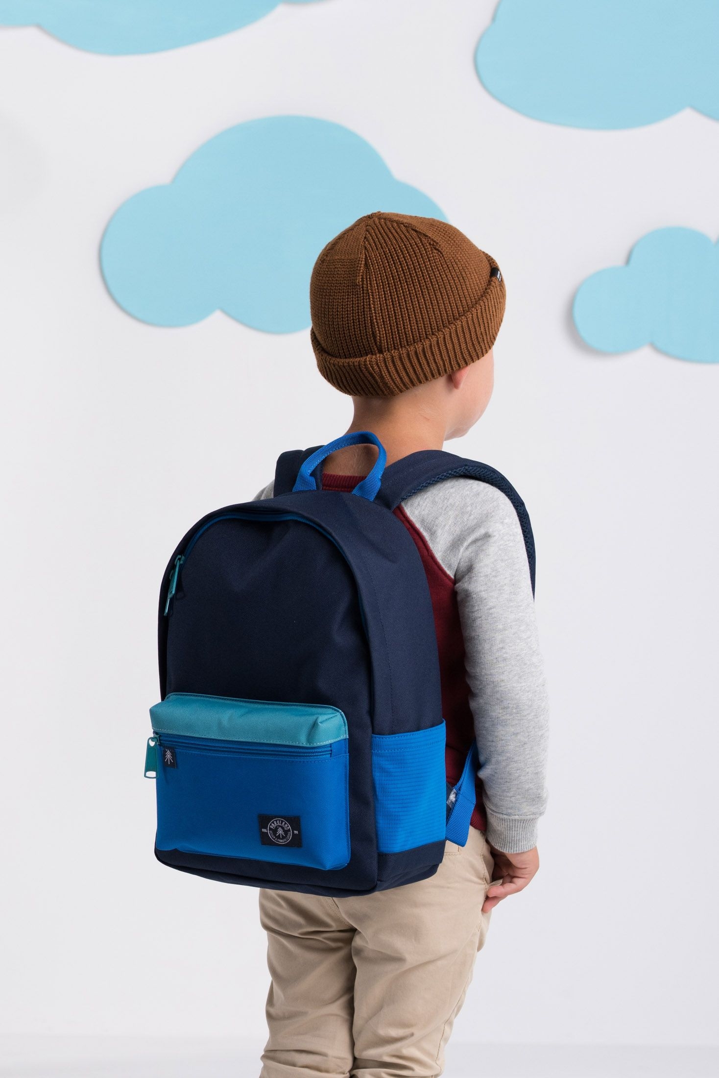 f86f67669fe Parkland Kid s Edison Backpack in Midnight from the Fall 2017 Collection.