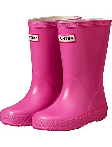 Little Kids Hunter Boots from