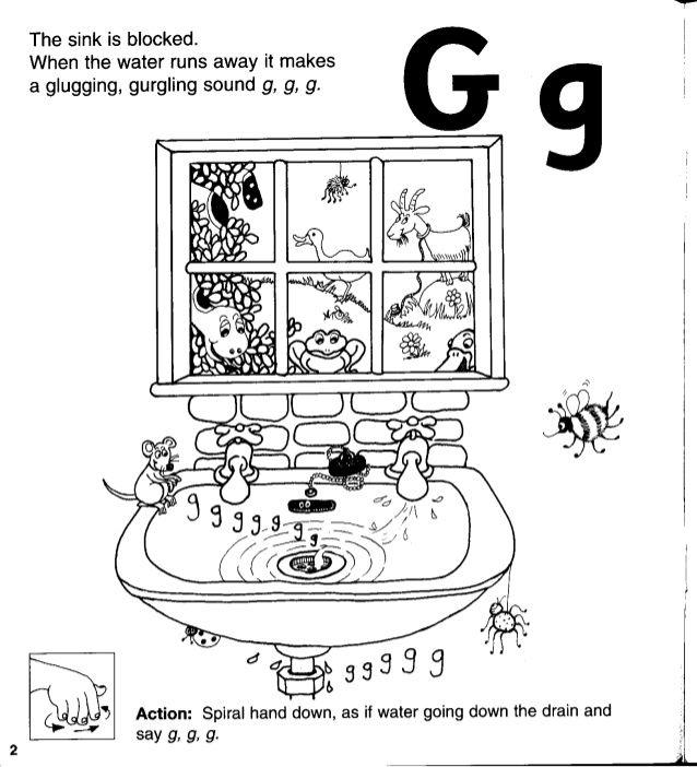 Kindergarten Jolly Phonics Worksheets