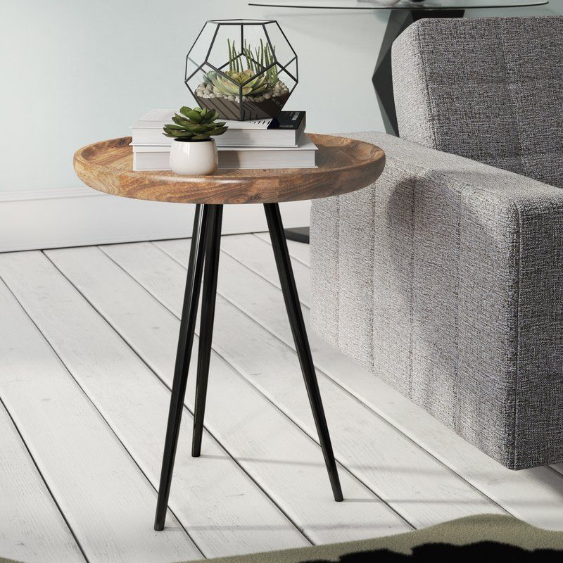 Ursula Side Table Beistelltisch Side Table Ursula In 2020 Minimalist Side Table Living Room Side Table Side Table Decor Living Room #wood #side #tables #living #room