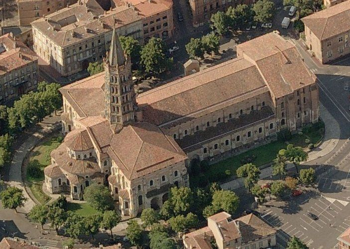 St sernin toulousethe first bishop of toulouse was for Architecture toulouse