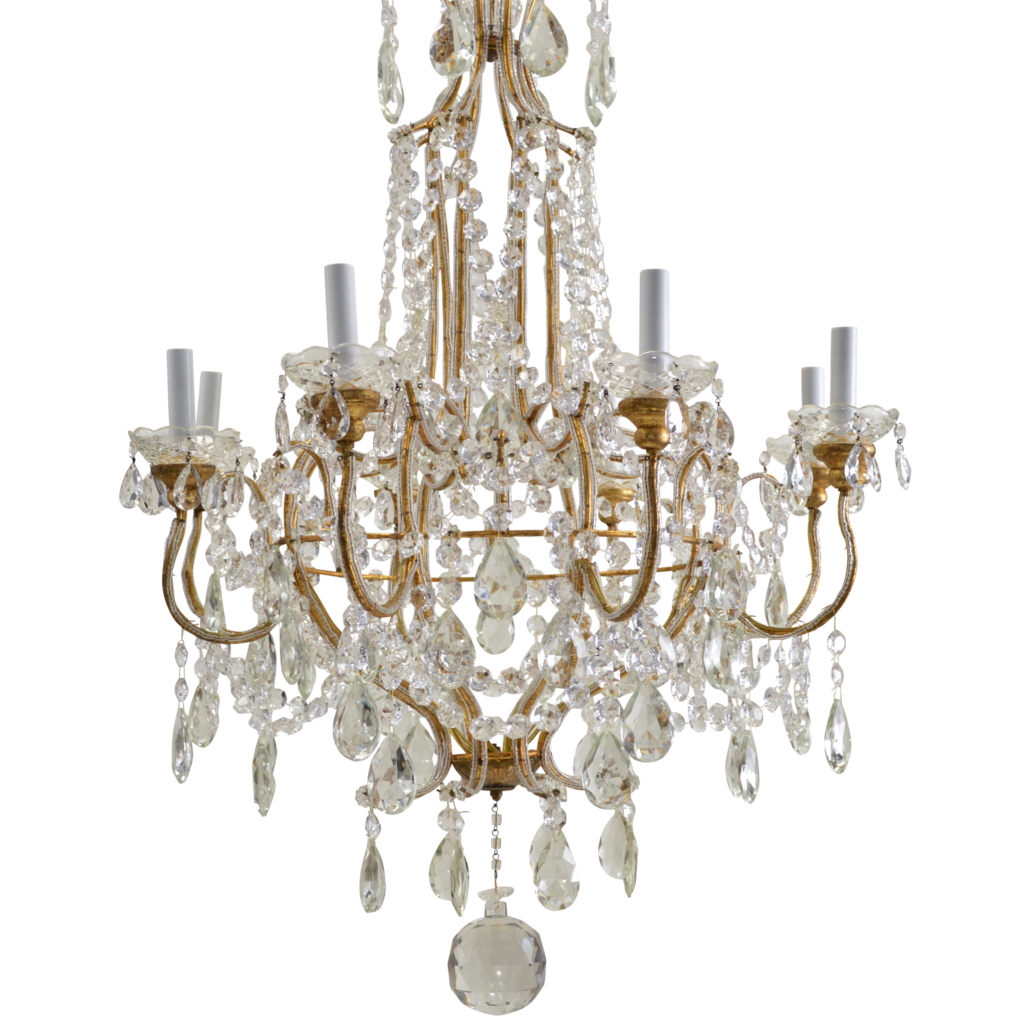 south wood product chandelier ombre african chairish available clay beaded grey