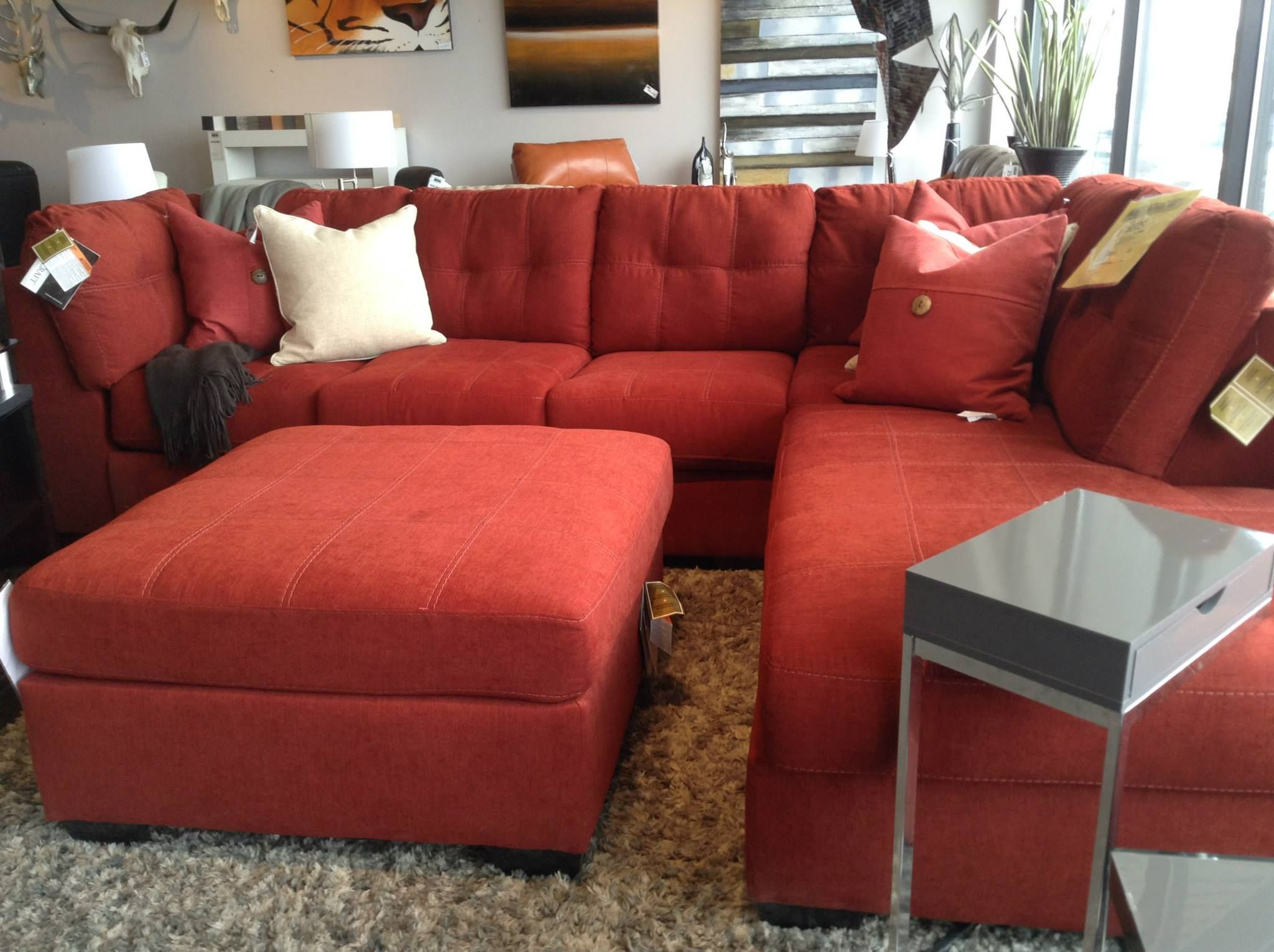 Pouf sofa sectionnel sofa review for Meuble brick laval