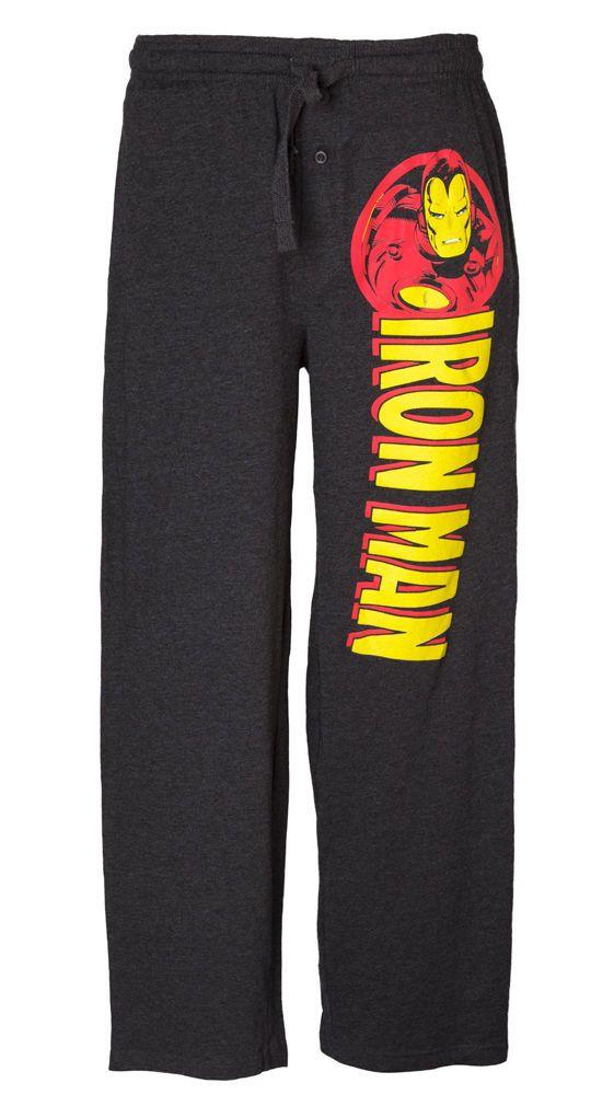 695dcff117 Iron Man Logo Men s Pajama Pants  comicbook  superhero  loungewear  casual