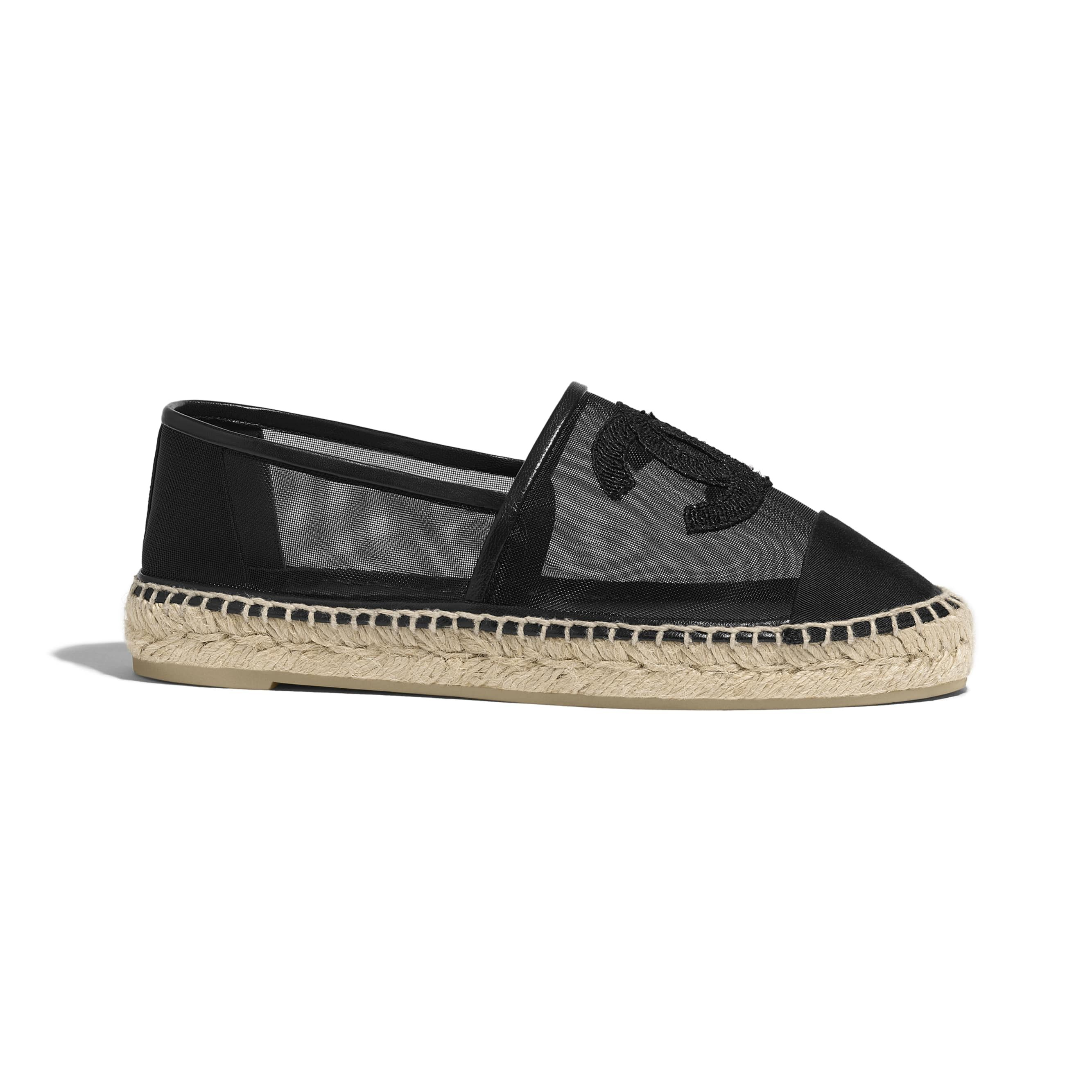 45c5b357c Espadrilles - Black - Mesh & Grosgrain - Default view - see standard sized  version