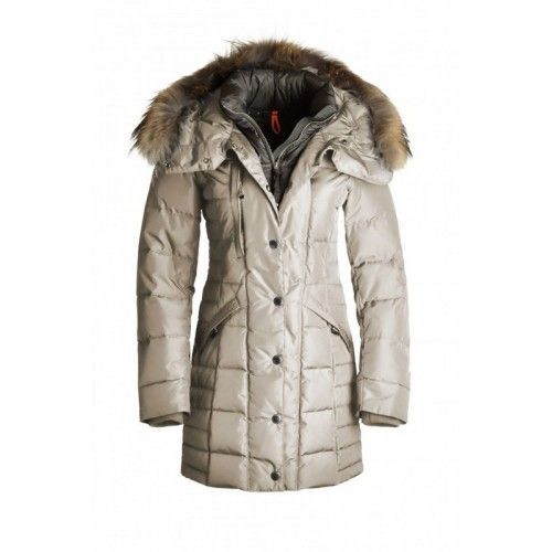 Parajumpers Angie 5 Years Dame Down Parka Beige Parajumpers Outlet