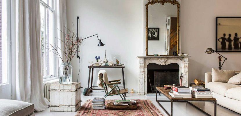 Casa En Estilo Vintage Con Toques Modernos Decoracion De