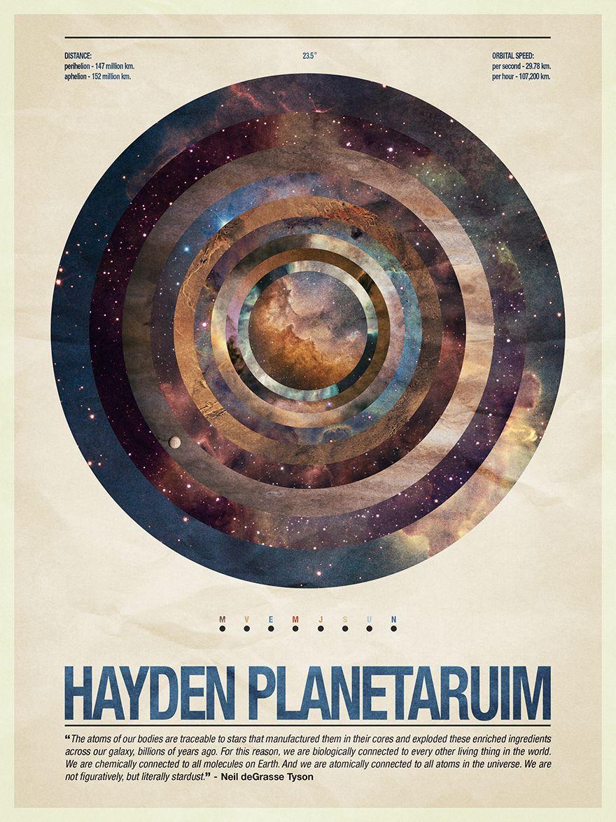 Hayden Planetarium - #poster #layout