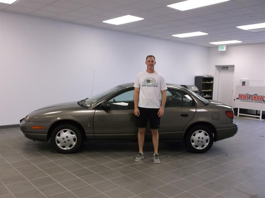 Mike Shaw Buick Gmc >> Nicholas New 2001 Saturn Sl1 Congratulations And Best