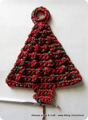 Pinterest Albero Natale Uncinetto Immagini Di Natale