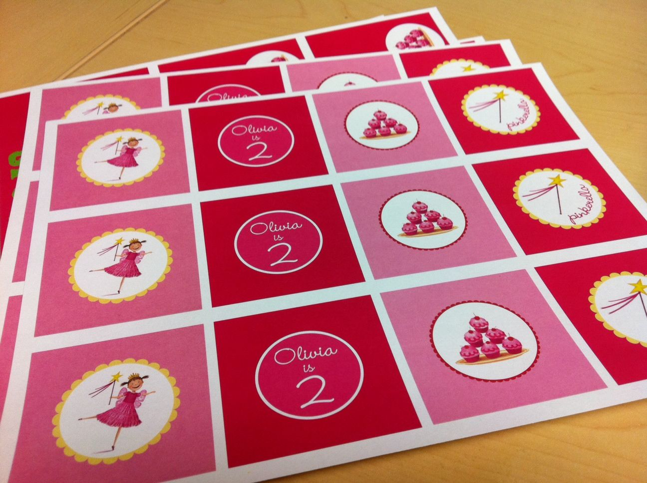 Pinkalicious Cupcake Toppers | FREE PRINTABLE ADULT GAME\'S ...