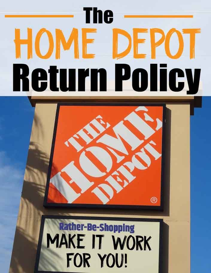 Home Depot Return Policy Insider Tips To Make It Really Work For You Home Depot Paint Home Depot Coupons Depot