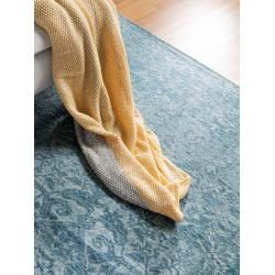 Photo of benuta Trends flat woven carpet Tosca blue 115×180 cm – vintage carpet in Used-Lookbenuta.de