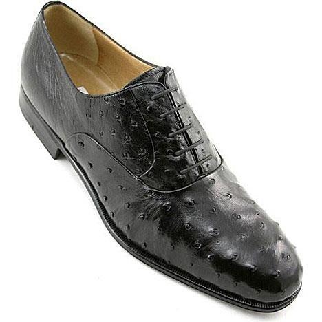 Обувь из страусиной кожи