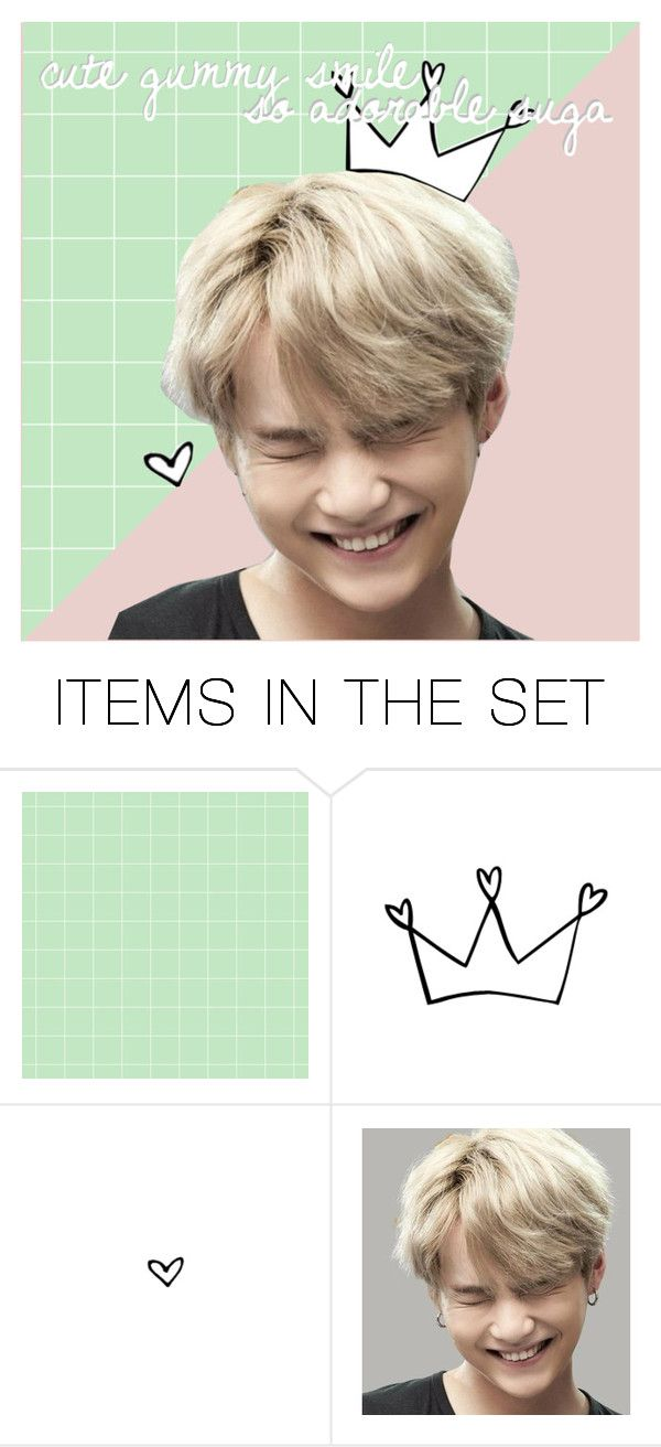 """Suga Icon {2}"" by kalistawinters ❤ liked on Polyvore featuring art"