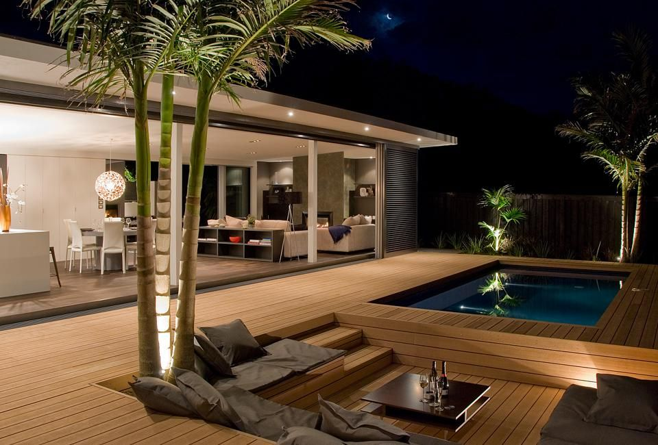 Image Detail For Clean Lines With Seamless Indoor Outdoor Flow The Conversation Pit