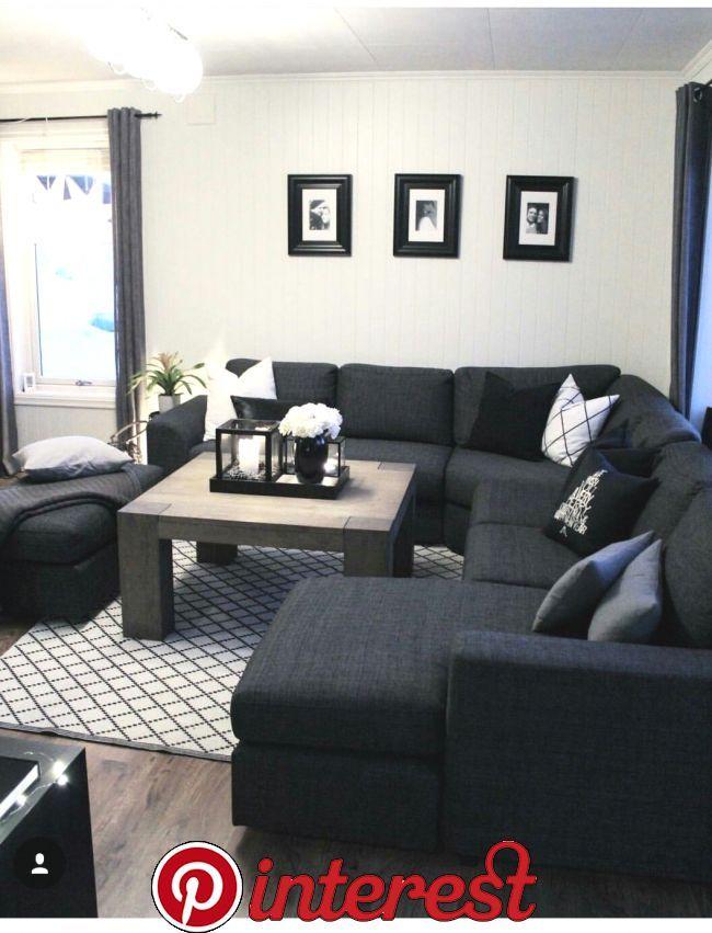 Woonkamer Klein Knus 2020 Black Living Room Decor Living Room Decor Apartment Living Room Design Decor