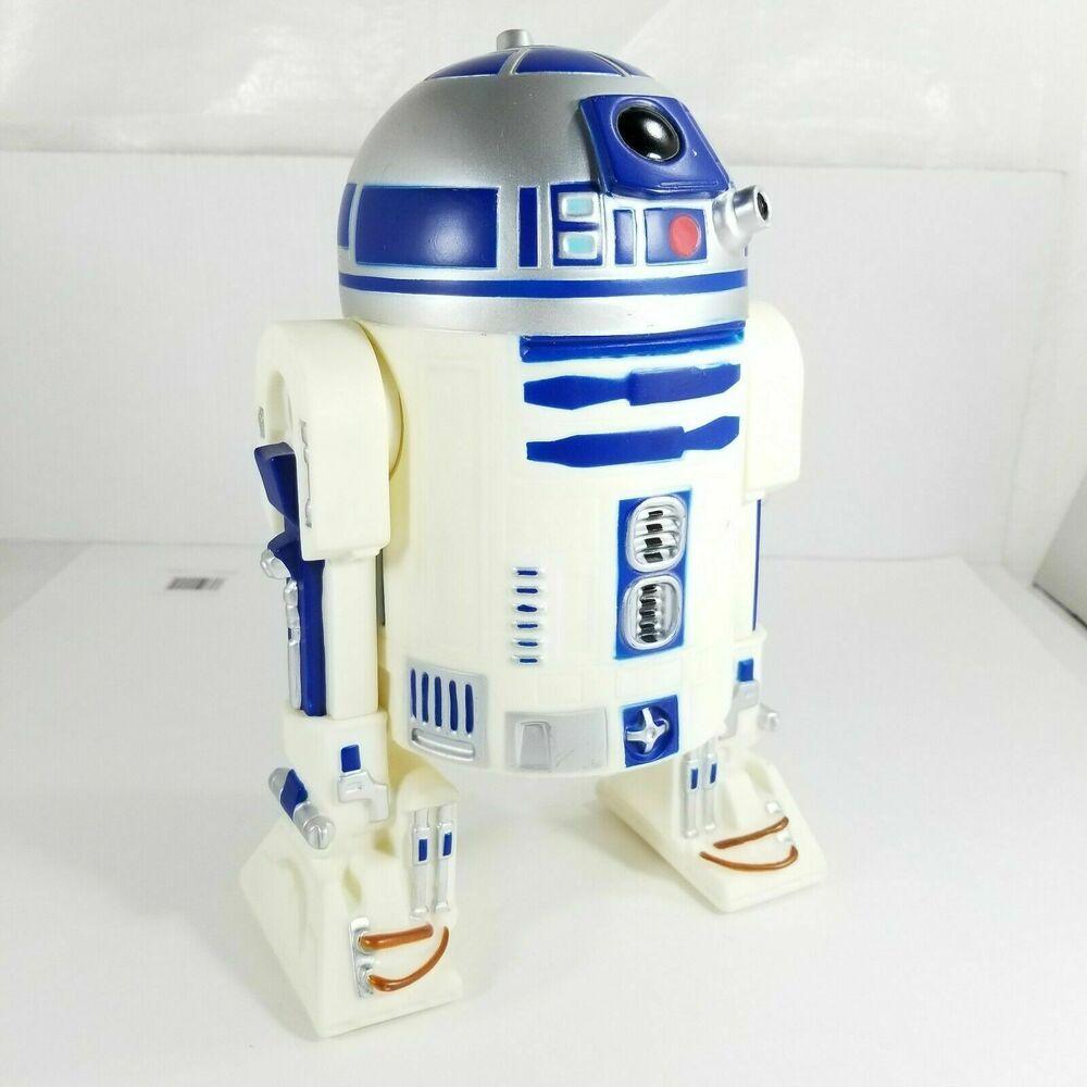 R2 D2 Star Wars Plastic Coin Piggy Bank Lucas Film 2010 Diamond Select Toys Diamondselect Lucas Films Piggy Bank War