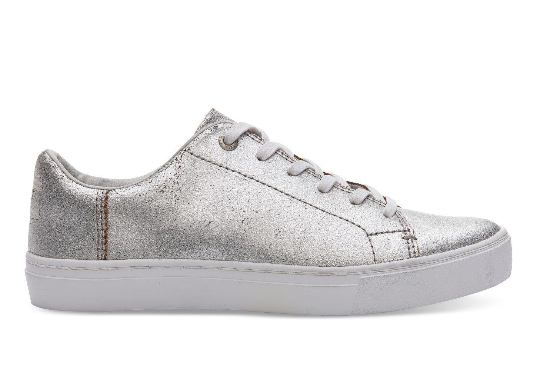 b8085b0f794 Toms silver metallic lenox sneaker