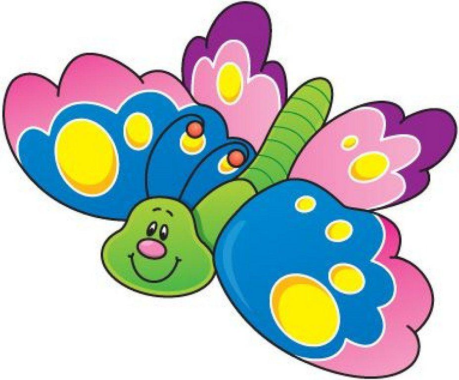 Dibujos De Mariposas Infantiles A Color: Clip Art, Butterfly And Scrapbook