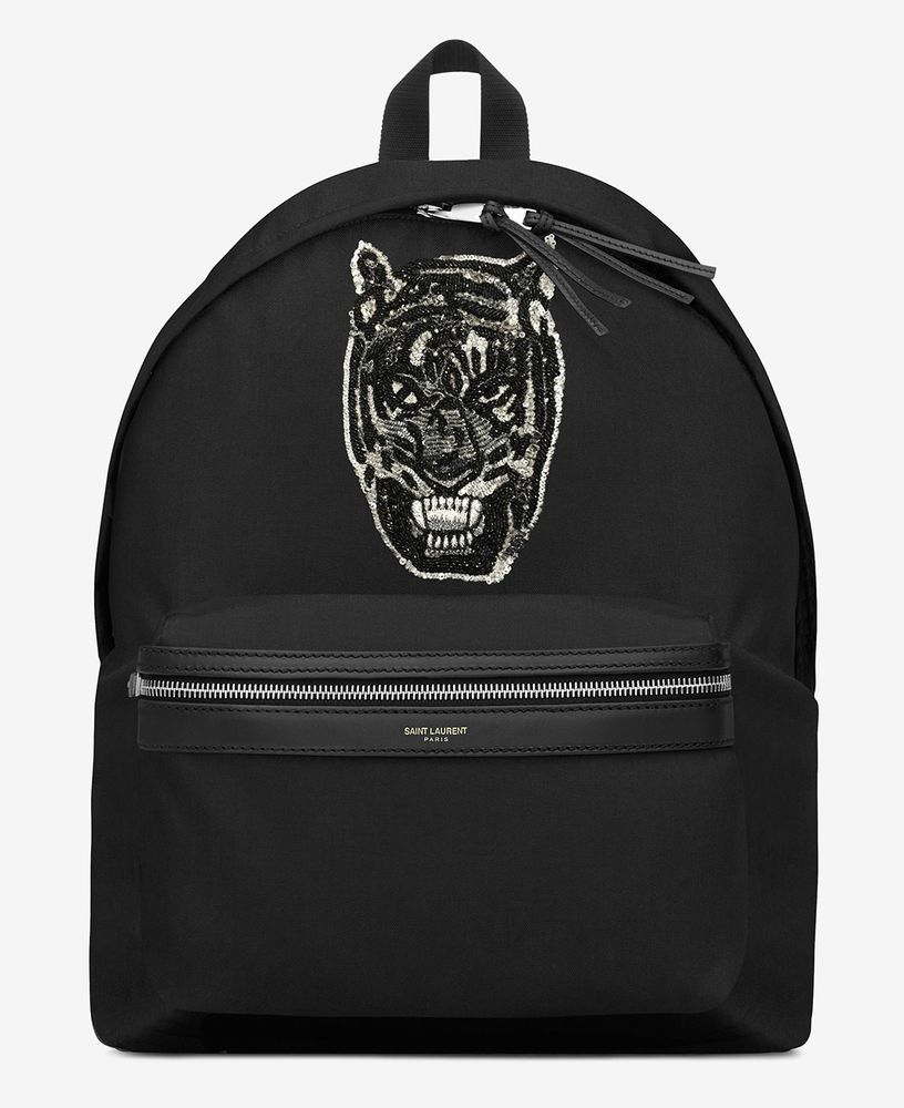tiger backpack Black