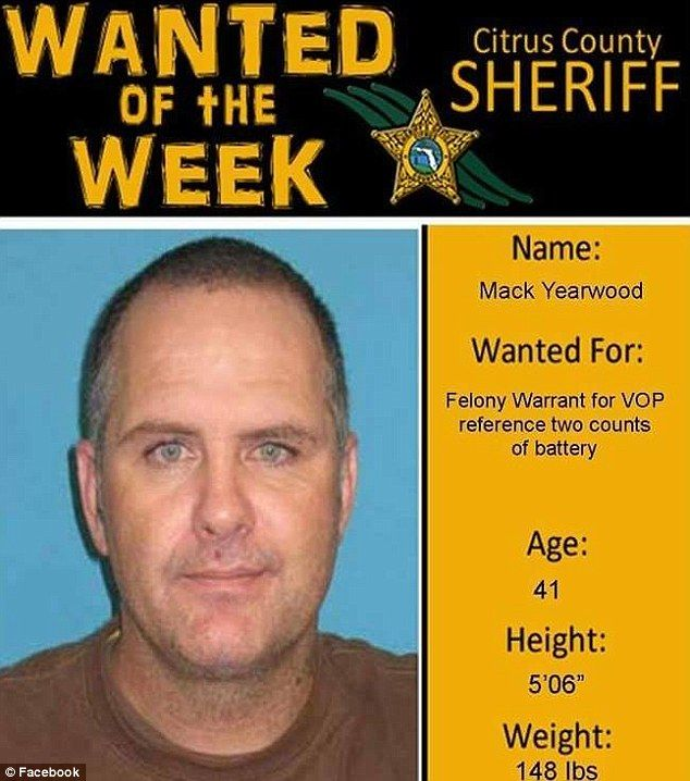 Fugitive is caught after using wanted poster as his Facebook - criminal wanted poster