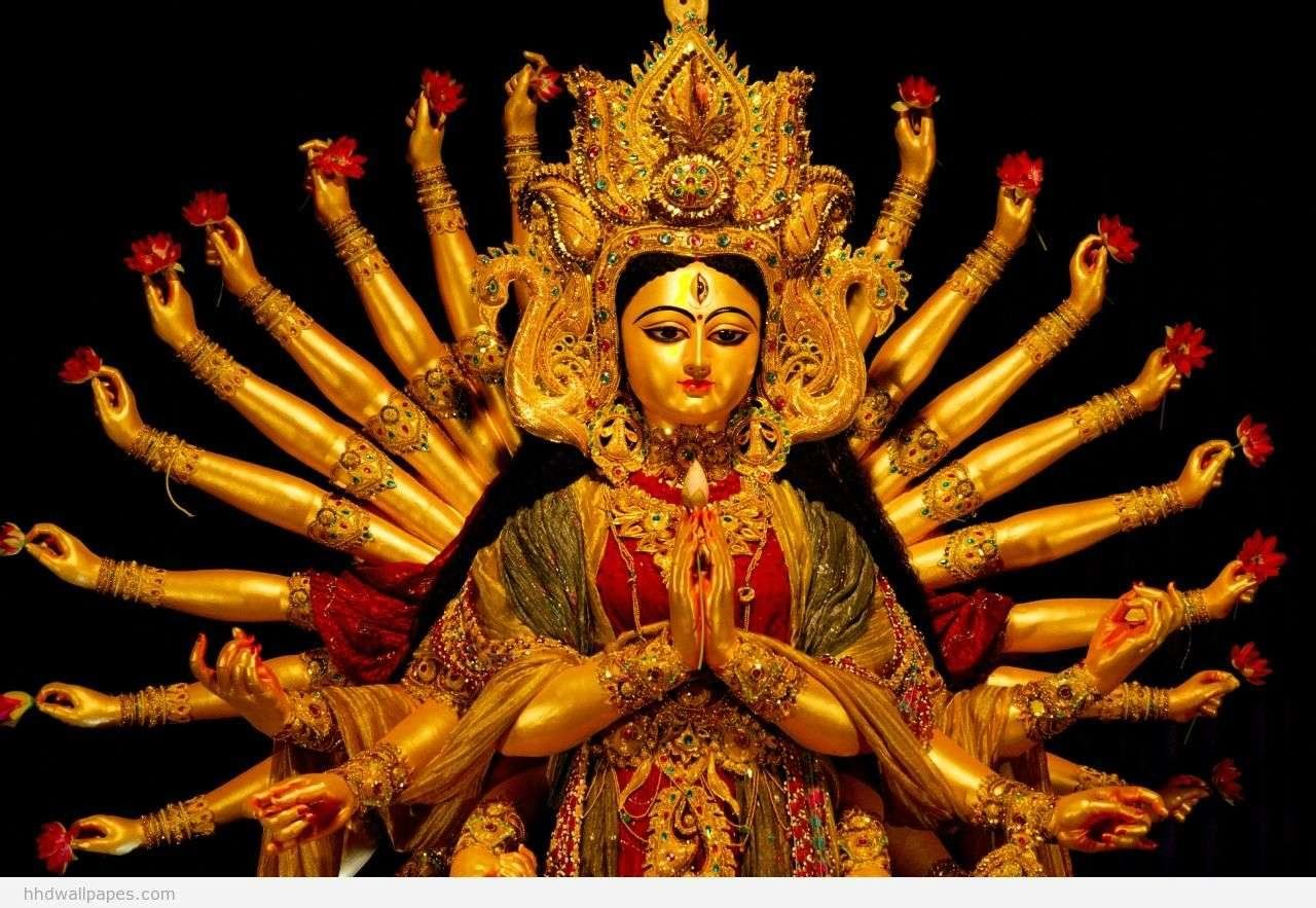 Wallpaper download mata rani - Hd Durga Maa Wallpapers Wallpapersafari