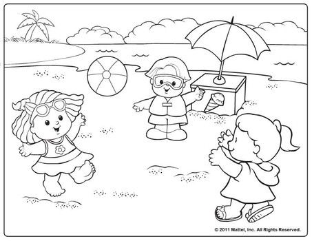 Summertime Coloring Pages For Toddlers Coloring Pages