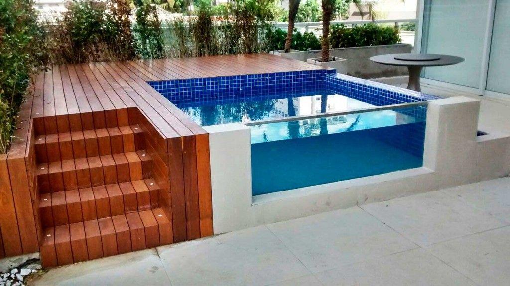 Piscinas de vidro pre os e marcas casa pinterest for Cuidado de piscinas