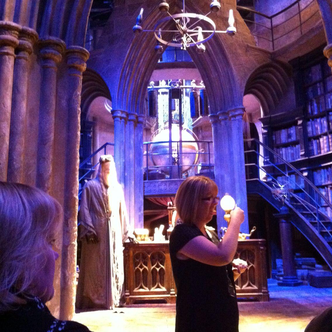 Visit Hogwarts - Ticked!
