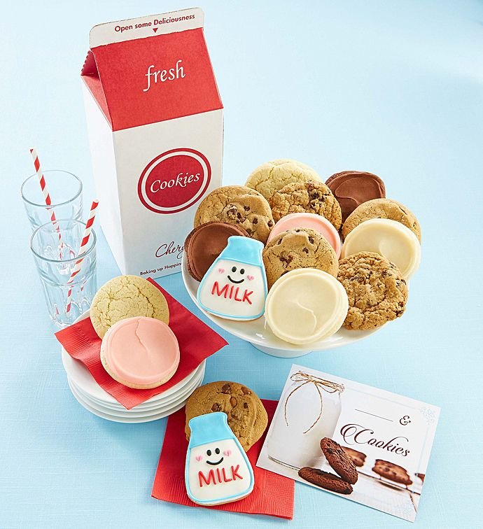 Great American Milk Drive Cookie Gift Box With Images Cookie