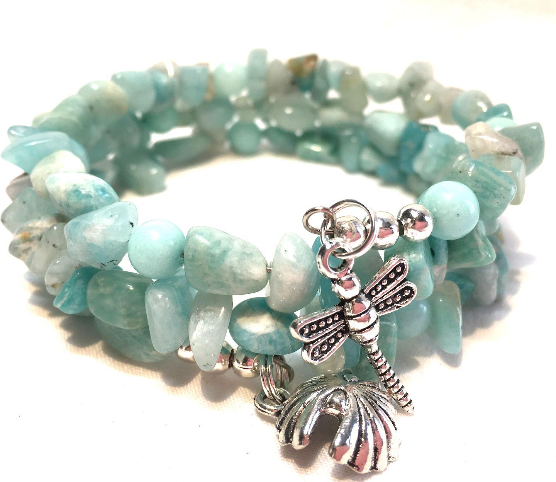 Jade And Ite Charm Bracelet