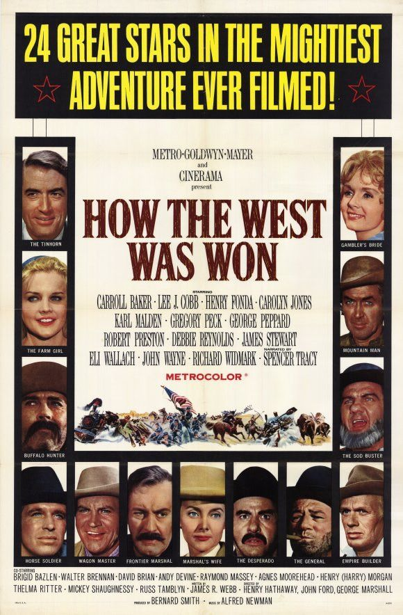 How the West Was Won 11x17 Movie Poster (1964)