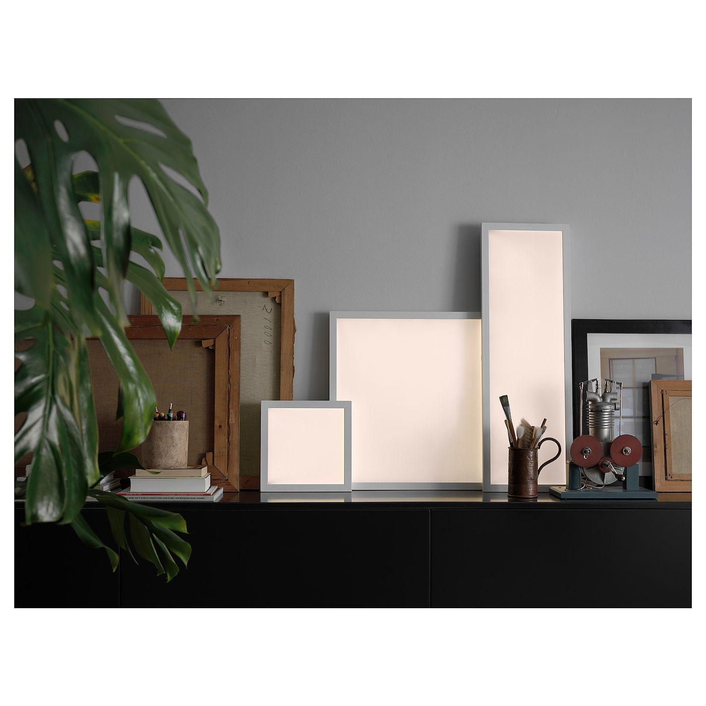 Floalt Led Light Panel Dimmable White Spectrum 24x24 Led