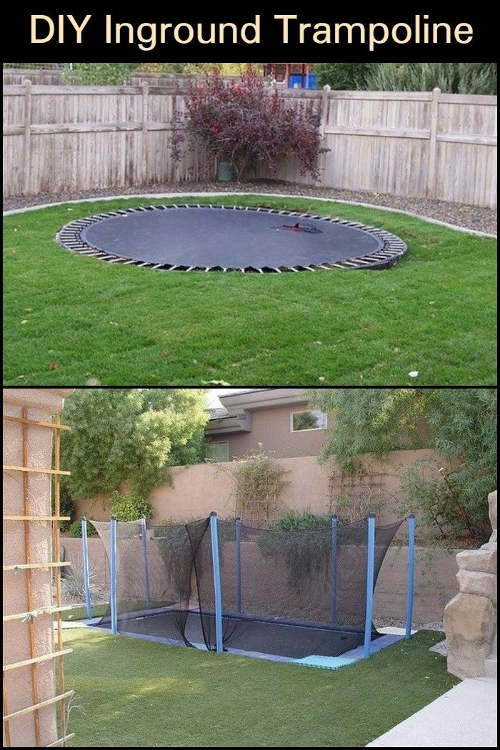 Let your kids be kids and build them an in-ground ...