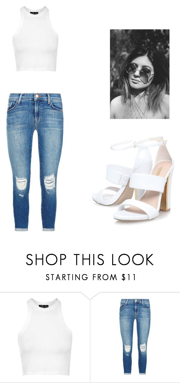 """freak me"" by escarletmix14 on Polyvore featuring Belleza, Topshop y J Brand"