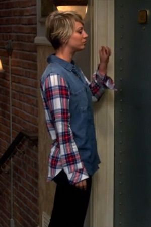 kaley cuoco as penny on the big bang theory season 8
